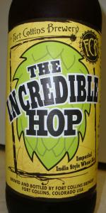 The Incredible Hop Imperial India Style Wheat Ale