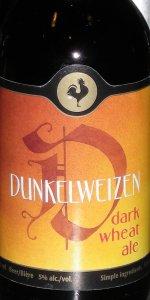 Big Rock Dunkelwizen (Kasper Shultz Line)