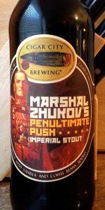 Marshal Zhukov's Imperial Stout - Zhukov's Penultimate Push