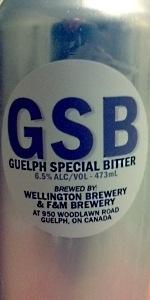 GSB (Guelph Special Bitter)