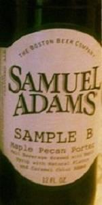 Samuel Adams Sample B - Maple Pecan Porter
