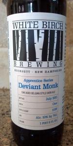 White Birch Apprentice Series Deviant Monk