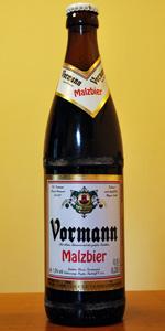 Vormann Malzbier