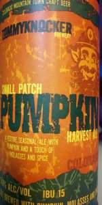 Small Patch Pumpkin Harvest Ale
