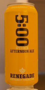 5:00 O'Clock Afternoon Ale
