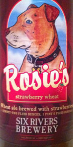 Rosie's Strawberry Wheat Ale