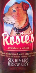 Rosie's Strawberry Wheat Ale