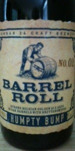 Humpty Bump Strong Belgian Golden Ale BA With Bretts (Barrel Roll No. 2)
