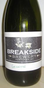 Breakside Farmhouse Grisette