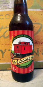 Rumspringa Red Caboose Ale
