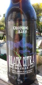 Black Citra Not So Pale Ale