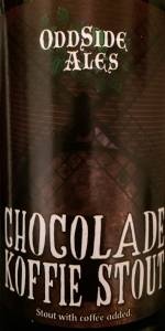 Chocolade Koffie Stout