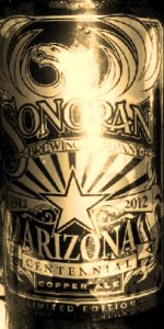 Arizona Centennial Copper Ale