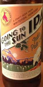 Going To The Sun IPA