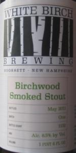 White Birch Birchwood Smoked Stout