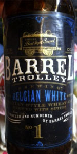 Barrel Trolley Belgian White