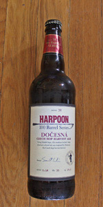 Harpoon 100 Barrel Series #38 - Dočesná Czech Hop Harvest Ale