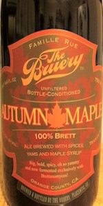 100% Brett Autumn Maple