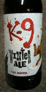 K-9 Cruiser Winter Ale