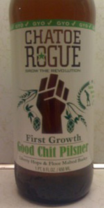 Rogue Farms Good Chit Pilsner