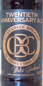 Otter Creek 20th Anniversary Ale