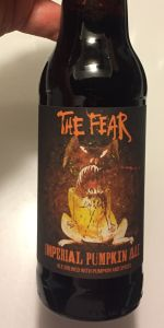 The Fear Imperial Pumpkin Ale