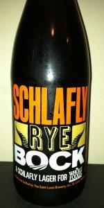 Schlafly Rye Bock