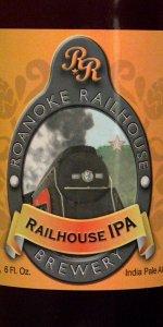 Broken Knuckle IPA | Roanoke Railhouse Brewery | BeerAdvocate