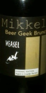 Beer Geek Brunch Weasel - Cognac Edition