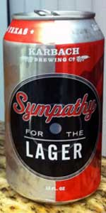 Sympathy For The Lager
