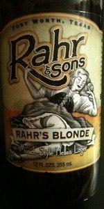 Rahr's Blonde