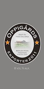 Oppigårds  Ekporter 2011