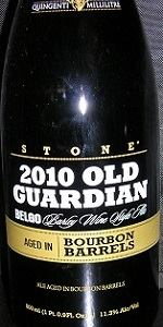 Old Guardian BELGO Barleywine - Bourbon Barrel Aged
