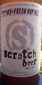 Scratch Beer 49 - 2011 (Fresh Hop Ale)