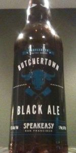 Butchertown Black Ale
