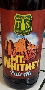 Mt. Whitney Pale Ale