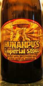Hunahpu's Imperial Stout - Rum Barrel Aged