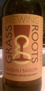 Grassroots / Tired Hands Wachu Saison