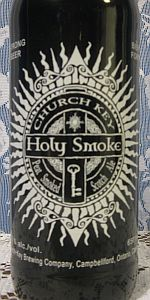 Church-Key Holy Smoke Scotch Ale