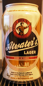 Atwater's Lager
