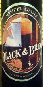 Samuel Adams Black & Brew Coffee Stout