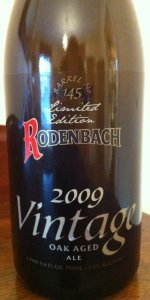 2009 Vintage Oak Aged Ale (Barrel No. 145)
