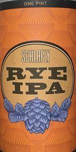 Schlafly Rye IPA