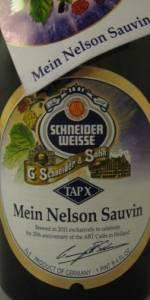 Schneider Weisse Tap X Mein Nelson Sauvin