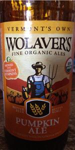 Wolaver's Pumpkin Ale