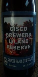 Island Reserve: Saison Farmhouse Ale