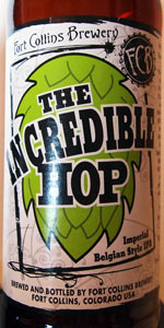 The Incredible Hop Imperial Belgian Style IPA