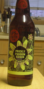 Lips Of Faith - Prickly Passion Saison