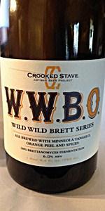 """Crooked Stave Wild Wild Brett """"Orange"""""""