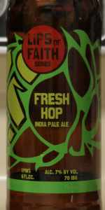 Lips Of Faith - Fresh Hop India Pale Ale
